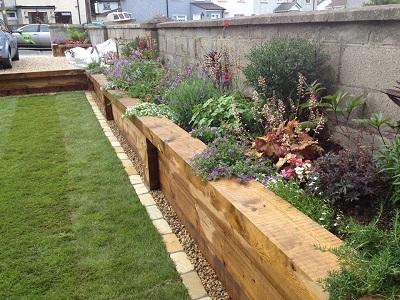 garden landscpaing by four seasons plantscaping