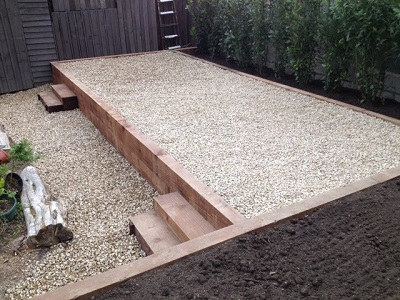 raised garden bed by four season plantscaping